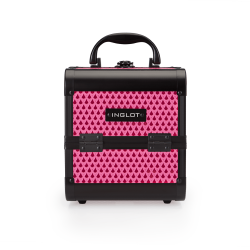 MAKEUP CASE MINI TEARDROP FUCHSIA